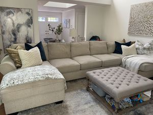 Sectional with two chaise lounges for Sale in Temecula, CA