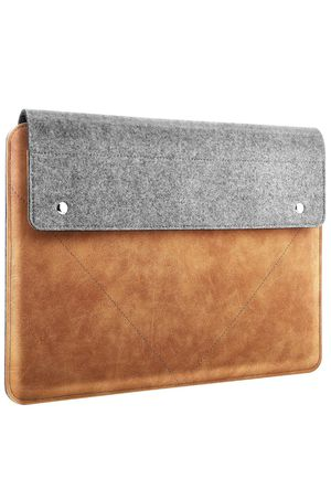 """Laptop Sleeve Fits MacBook Air 13-inch Retina, MacBook Pro 13"""", Dell XPS 13, Asus ZenBook, HP Acer Lenove 13-13.3 Inch Notebook Computer, Felt and P for Sale in Houston, TX"""