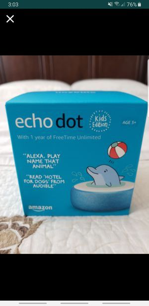Amazon Echo Dot for children Blue color for Sale in Fontana, CA