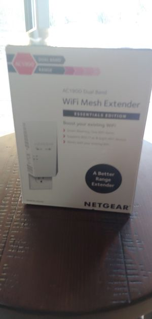 Ac1900 Netgear Nighthawk wifi extender for Sale in Las Vegas, NV