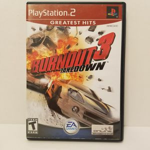 PlayStation 2 Burnout 3: Takedown Complete for Sale in Queens, NY