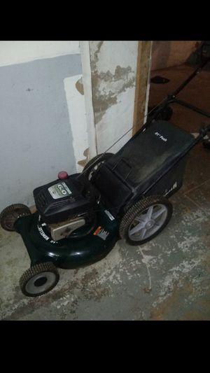 Big wheel gas lawn mower runs great for Sale in Philadelphia, PA