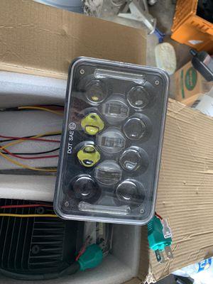 "4pcs 4x6"" LED Headlights Hi/Lo Beam for Chevy C10 C20 C30 Camaro for Sale in Las Vegas, NV"