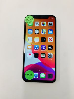 Factory unlocked iPhone X-256GB Ready to use for Sale in Vista, CA