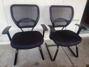 2 office chairs $35 each for Sale in Phoenix, AZ