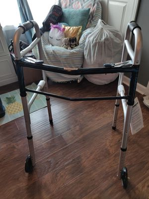 ProBasic Deluxe 2 Button folding walker for Sale in Knoxville, TN