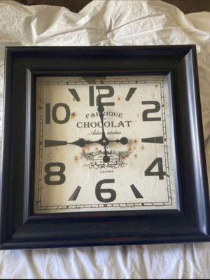 Square Metal Frame Clock for Sale in Taylorsville, UT