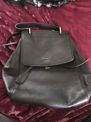 Genuine Italian leather Furla backpack purse for Sale in Rancho Cucamonga, CA