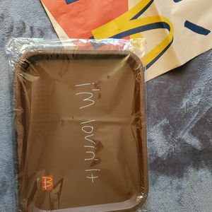 Travis Scott X McDonald's I'm Lovin' It Lunch Tray for Sale in Arcadia, CA