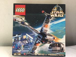 Lego Star Wars B-Wing at Rebel Control Center Set 7180 Never Been Used RARE COLLECTABLE for Sale in Missoula, MT