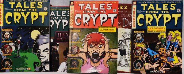 Tales From The Crypt Goofy Parody Book Series #1-7 $20