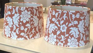 2 Lamp shade for Sale in Bellevue, WA