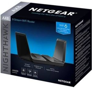 NETGEAR Nighthawk 8-Stream AX8 Wifi 6 Router (RAX80) AX6000 for Sale in Issaquah, WA
