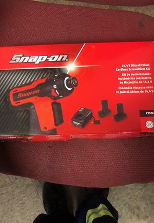 Snap-on cordless screwdriver kit for Sale in Fort Washington, MD