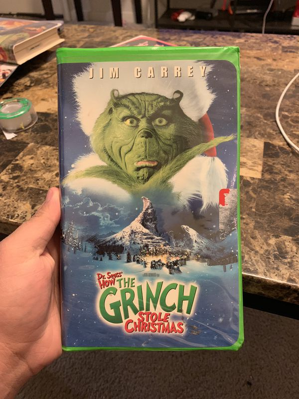 The Original Grinch VHS Tape