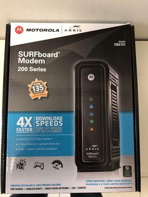 Motorola Arris modem works for Comcast for Sale in Waltham, MA