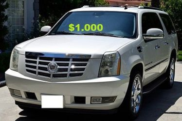 ❖Runs and Drive Perfect 2OO8 Cadillac Escalade $1,000 for Sale in Washington,  DC
