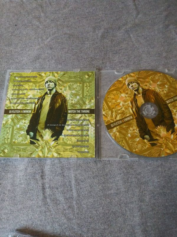 Eminem music CDs both are in excellent condition and you get both for only $13