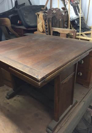 Antique oak table and chairs for Sale in San Diego, CA