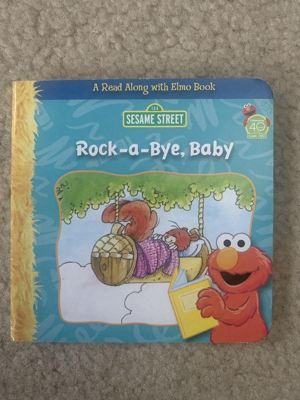 Baby Elmo Sing a Long book
