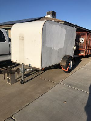 White utility trailer for sale!!! for Sale in Phoenix, AZ