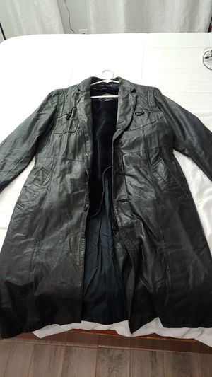 Mens Eros leather coat size 42 for Sale in Glendale, AZ