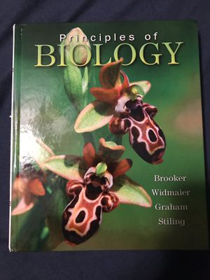 Principles of Biology Textbook for Sale in Manassas, VA