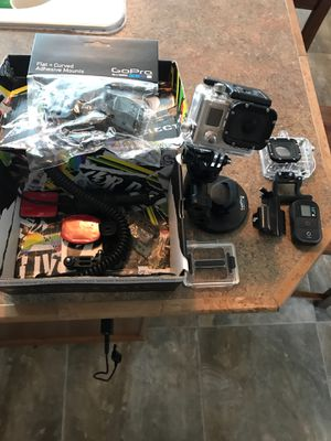 GoPro set with everything for Sale in Kennewick, WA