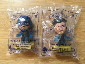 Avengers Happy Meal toys: Captain America & Hawkeye for Sale in El Cerrito, CA