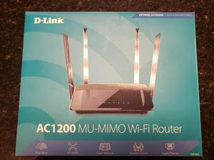 D-Link AC1200 Wifi Router – Smart Dual Band for Sale in Flower Mound, TX