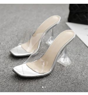 Clear heels for Sale in Hyattsville, MD