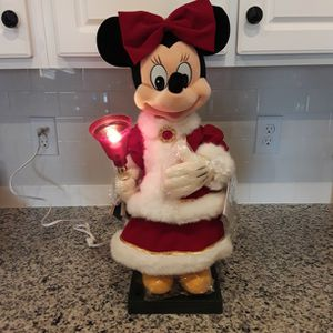Disney Minnie Mouse Animated Musical Lighting Holiday Figure - Purchased In 1994 - New In Box for Sale in Windermere, FL