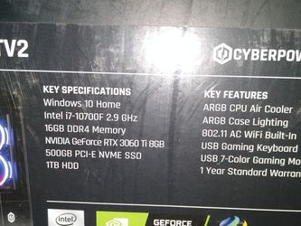 Rtx 3060 Ti Gaming Computer for Sale in Vancouver,  WA