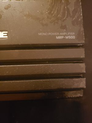 Alpine Vpower MRP-M500 Mono Power Amplifier for Sale in Mexico, MO