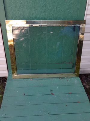 Brass Fireplace Door for Sale in Hampton, VA