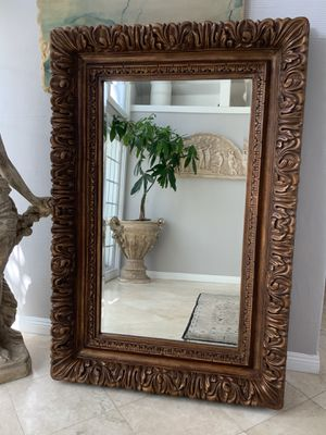 """67""""x44"""" best quality full length mirror, bronze color, excellent condition and brightening any room in your hous for Sale in Laguna Niguel, CA"""