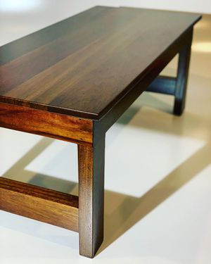 Solid Jatoba Coffee Table for Sale in Des Moines, WA