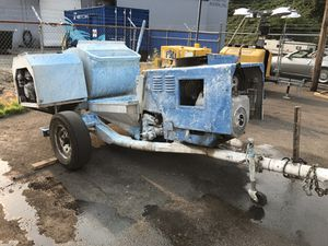Used Putzmeister Tommy gun plaster pump for Sale in Portland, OR