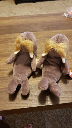Jolly the walrus beanie babies for Sale in Columbia, SC