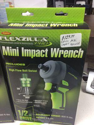 Flexzilla Mini Impact Wrench 1/2 IN Drive for Sale in Detroit, MI