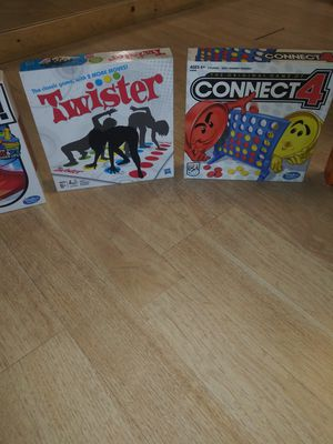 Board Games TWISTER & CONNECT 4 for Sale in Alameda, CA