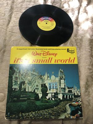 Walt Disney It's a small world after all (record for Sale in Tampa, FL
