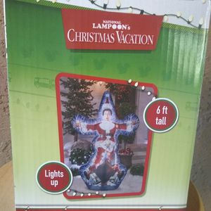 6FT Lampoons Christmas Vacation Clark Griswold Airblown Inflatable Decoration for Sale in Phoenix, AZ