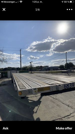 1999 utility flatbed 48 x102 for Sale in Winter Haven, FL