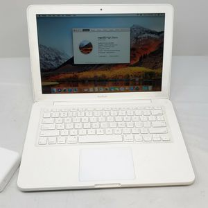 "Apple MacBook White 13"" MC207LL/A 500GB 2.26GHz 6GB MAC OS High Sierra 2017 #12. for Sale in Phoenix, AZ"