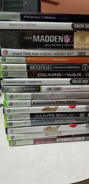 Xbox games and magazines with cheat codes for Sale in Riverview, FL