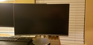 Samsung curved monitor 27 inch. Never used (2019 model) for Sale in Cary, NC