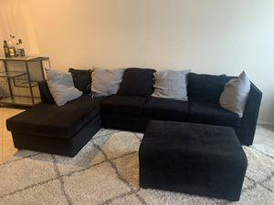 Couch & Ottoman for Sale in Phoenix, AZ