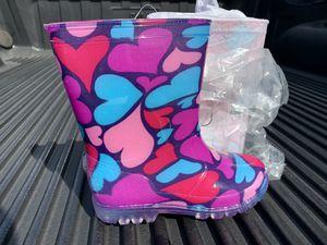 New Kids Rubber Rain Boots Size 11 for Sale in Miami, FL