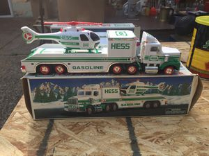 Hess helicopter transporter with copter for Sale in Canton, OH